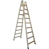 Escada Madeira Extensível 10 Degraus