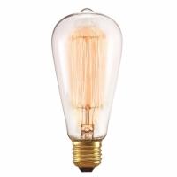 Lâmpada Filamento de Carbono ST64 220V