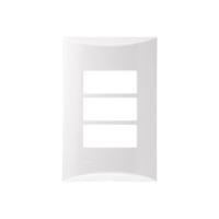 Placa 3TS Horizontal - 4X2